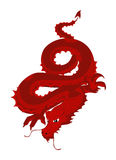 Red Dragon Royalty Free Stock Image