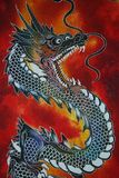 Red Dragon. A photo of a red dragon stock images