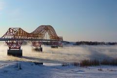 Red Dragon bridge Royalty Free Stock Photo