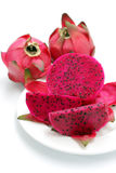 Red Dragon Fruit Stock Photo