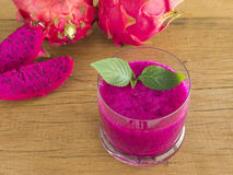 red dragon fruit Stock Image