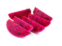 Red dragon fruit with high nutrient good for health Stock Images