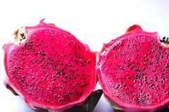 Red dragon fruit Royalty Free Stock Photos