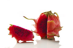 Red dragon fruit / pitaya Royalty Free Stock Photo