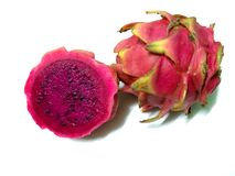 Red dragon. Fruit in white background Royalty Free Stock Images