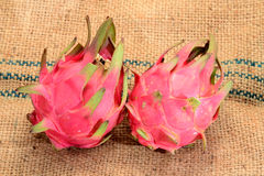 Red Dragon Fruits Stock Photo