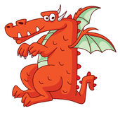 Red Dragon Funny Stock Photos