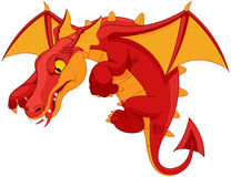 Red Dragon royalty free illustration