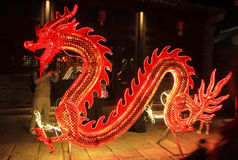 Red dragon Stock Photography