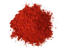Red Dragon Resin Powder stock images