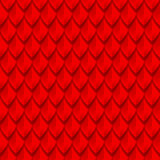 Red dragon scales seamless background texture Stock Photography