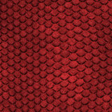 Red Dragon Skin Royalty Free Stock Photography