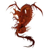Red dragon Stock Photo