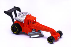Red Dragster Toy Car Stock Image