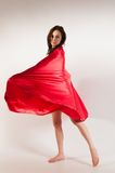 Red drape Royalty Free Stock Photos