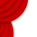 Red drape curtain Royalty Free Stock Image