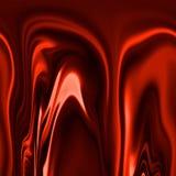 Red drapery Stock Photo