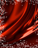 Red drapery. With bright sparkles Royalty Free Stock Images