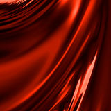 Red drapery Royalty Free Stock Image