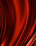 Red drapery Stock Images