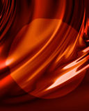 Red drapery Stock Photo