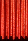 Red drapes. Red colourful drapes for background Stock Photos