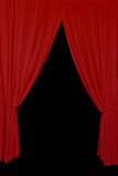Red drapes background Royalty Free Stock Photos