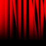 Red drapes Stock Image