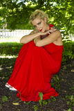 Red Dream Stock Photo