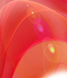 Red dreams fractal background Royalty Free Stock Images