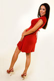 Red dress Stock Images