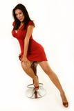Red Dress Stock Photo