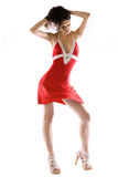 Red dress Stock Photography