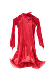 Red dress Royalty Free Stock Photography