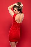 Red dress Royalty Free Stock Photo