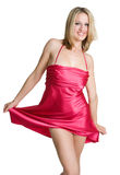 Red Dress Woman Royalty Free Stock Photo