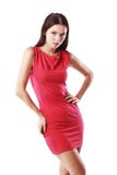 Red dress Royalty Free Stock Image