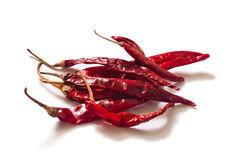 Red dried chilli. Food integrant for spicy cooking Royalty Free Stock Images