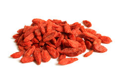 Red dried goji berries (Lycium Barbarum - Wolfberry) Stock Images
