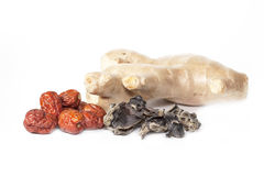 Red dried jujube and ginger