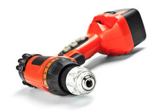 Red drill closeup Stock Photography