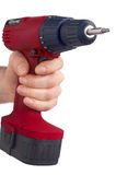 Red Drill - Rote Bohrmaschine Royalty Free Stock Photography