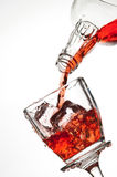 Red drink Royalty Free Stock Photos
