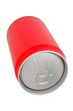 Red Drink can Royalty Free Stock Photos
