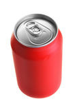 Red drink can Royalty Free Stock Photo