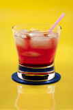 Red drink Royalty Free Stock Photography