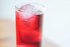 Red Drink. Non-alcoholic beverage, red drink Royalty Free Stock Photos