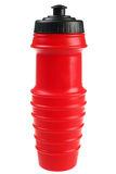 Red drinking bottle Stock Photo