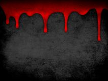 Red dripping blood grunge background Royalty Free Stock Photo