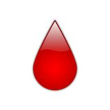 Red Drop [01] royalty free stock photos